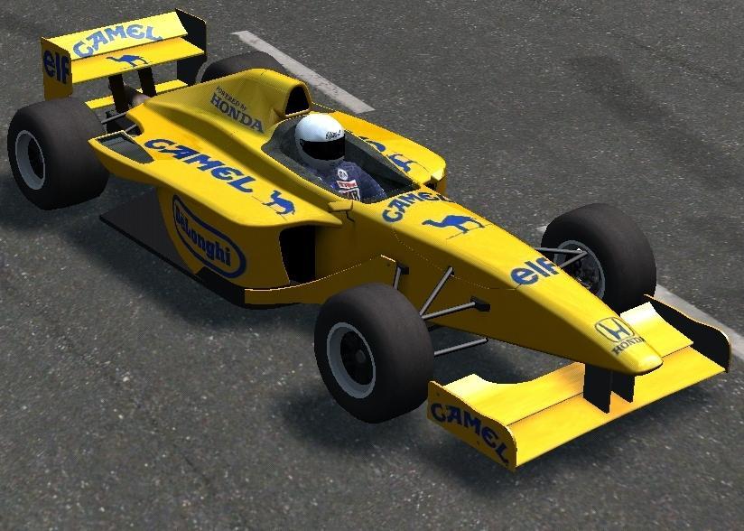Camel Lotus 100t Team Honda F1 Car Flickr Photo Sharing
