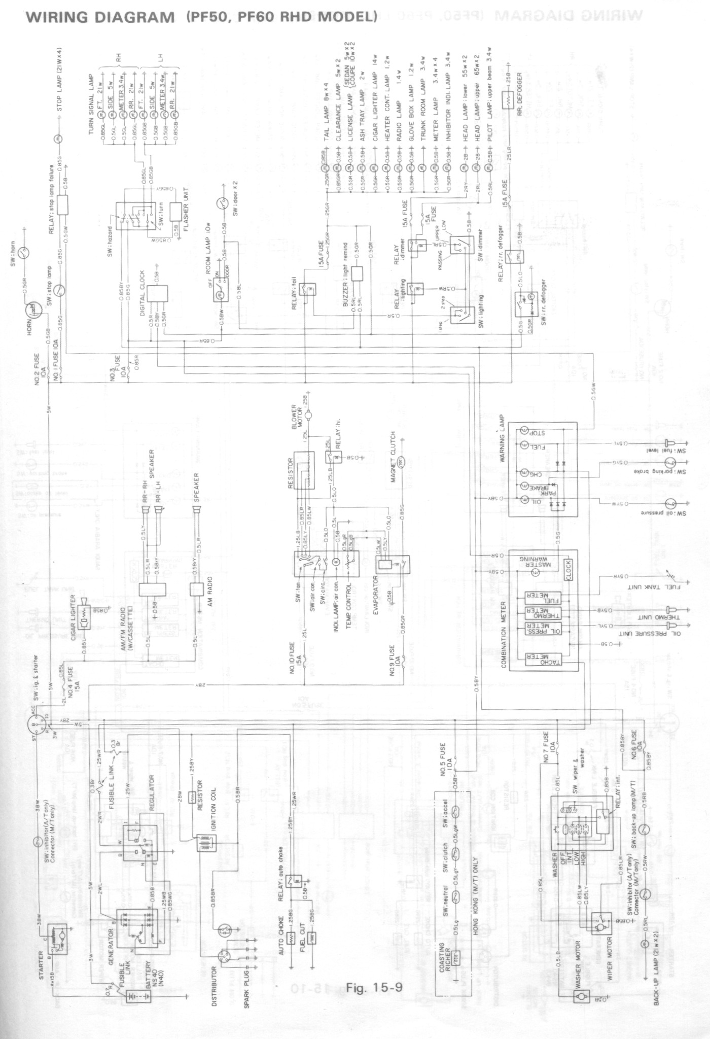 gemini panel wiring diagram